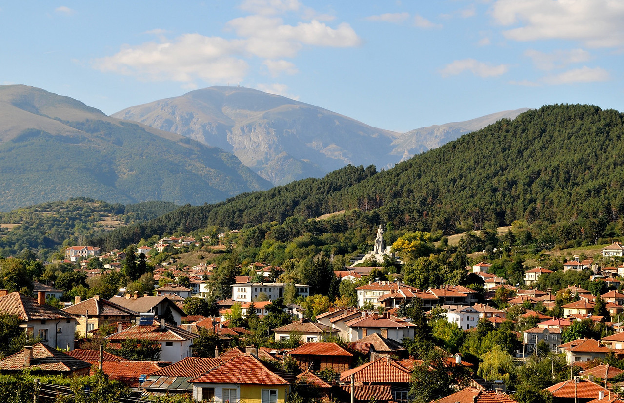 Kalofer, at the edge of the Balkan mountain, the birthplace of the most beloved Bulgarian poet Hristo Botev