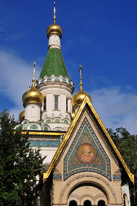 Russian-orthodox church in Sofia