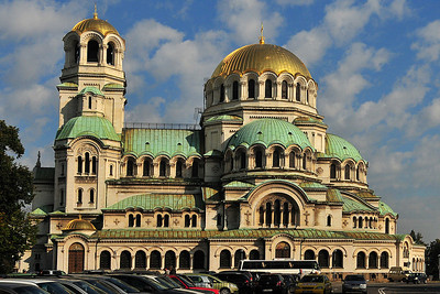 Back in Sofia - Alexander-Newski-Cathedral