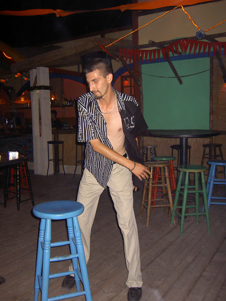 A night on the town in Varna: this guy had the funkiest moves!