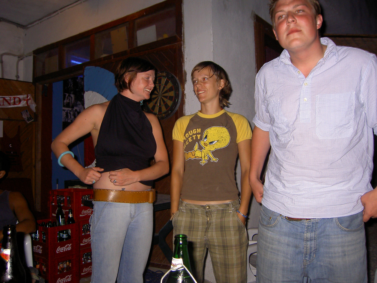 Hostel people: Ally, a Norwegian and Josh