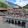 Rila monastery at Bulgaria.