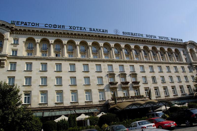 Sherton Hotel in Sofia