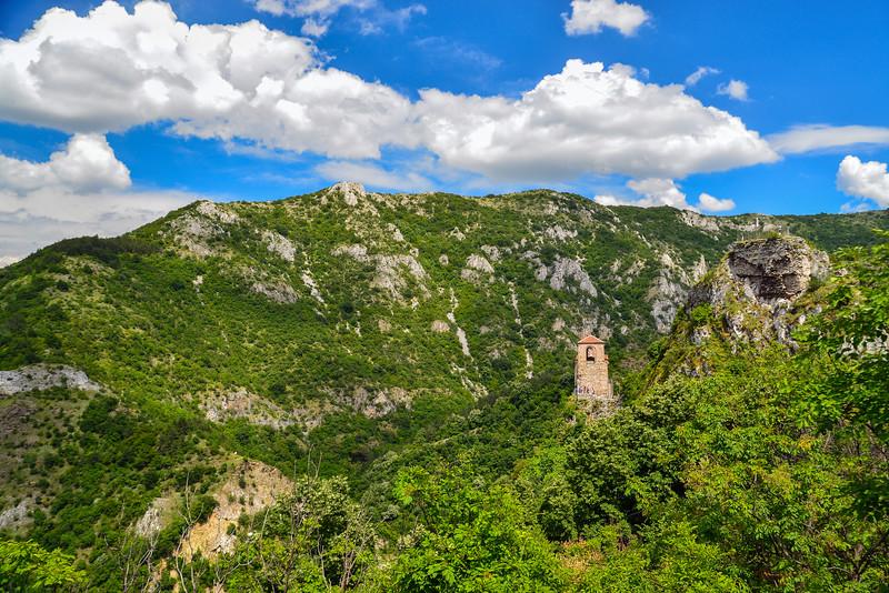 Asen's fortress in the Asenovgrad region, Plovdiv, Bulgaria.