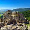 The ancient Thracian city of Perperikon in the  Eastern Rhodopes at Bulgaria.
