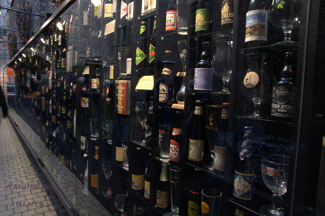 The wall of beer.