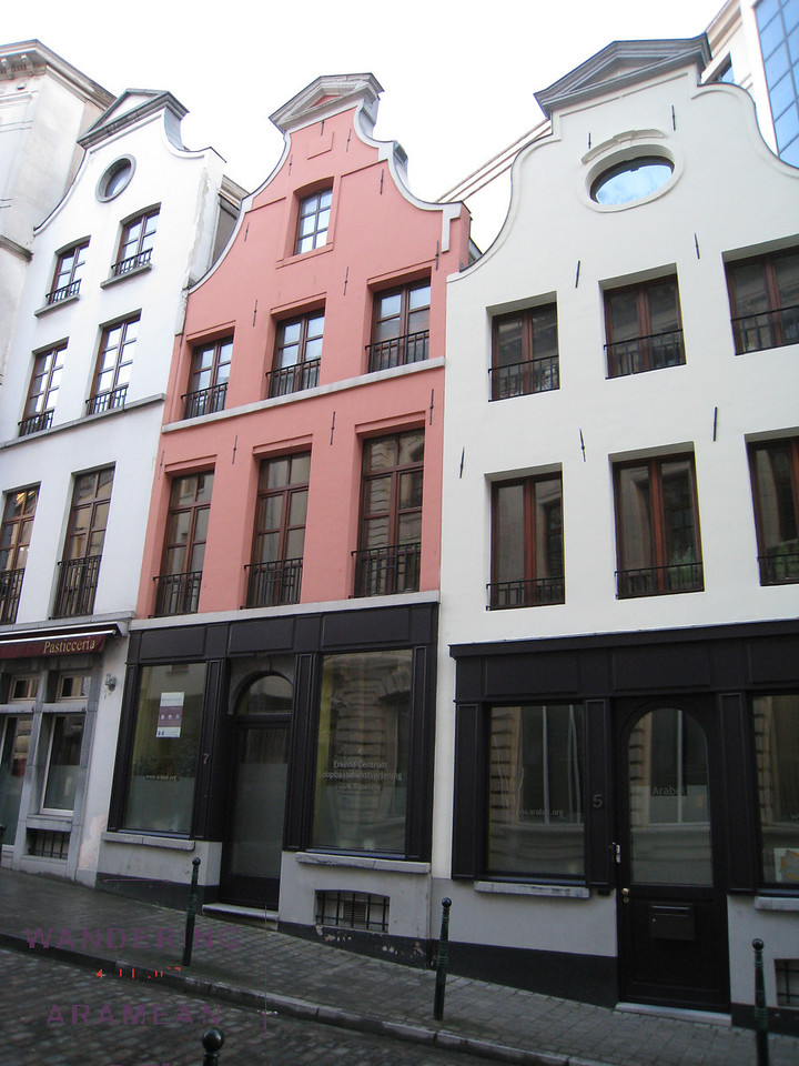 Some buildings around town in Brussels.