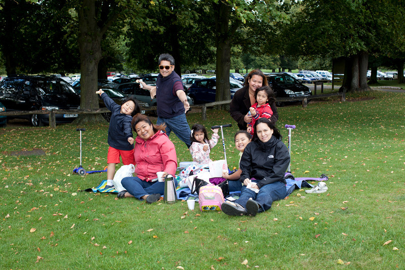 Short picnic before the Burghley adventure.