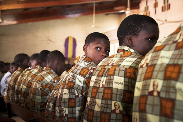 Ouagadougou, Burgina Faso, College Jean Baptiste