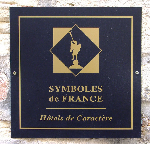 This was indeed an unusual hotel.  A very old abbey in the city of Beaune.
