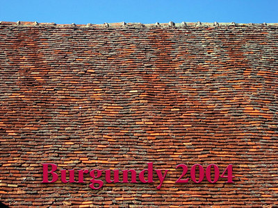 2004 burgundy, may