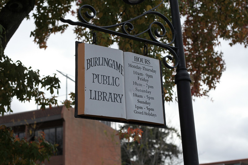 Cute library sign!
