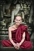 Inside Shwedagon pagoda.  90% of Burma's population is Buddist.