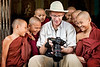 Here I am at the Koehtetgyi Pagoda Shwetaung monastery (in Yangon) where we had an opportunity to photograph monks in their school.