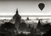 """Bagan is known as the """"Land of Pagodas.""""   This is an early morning landscape from Menyeingone Temple."""
