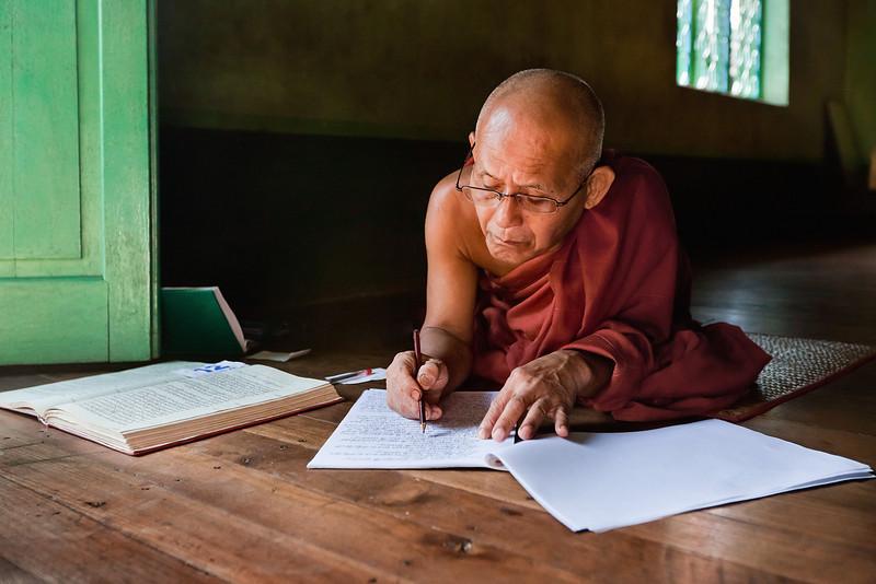 Chauk Htet Gyi monastery monk master.