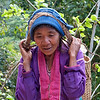 Lady at small village near Kalaw