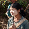 Farmer girl at Kalaw area