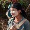 Farmer girl at Kalaw area