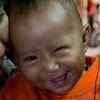 Kid at Mahamuni Paya, Mandalay