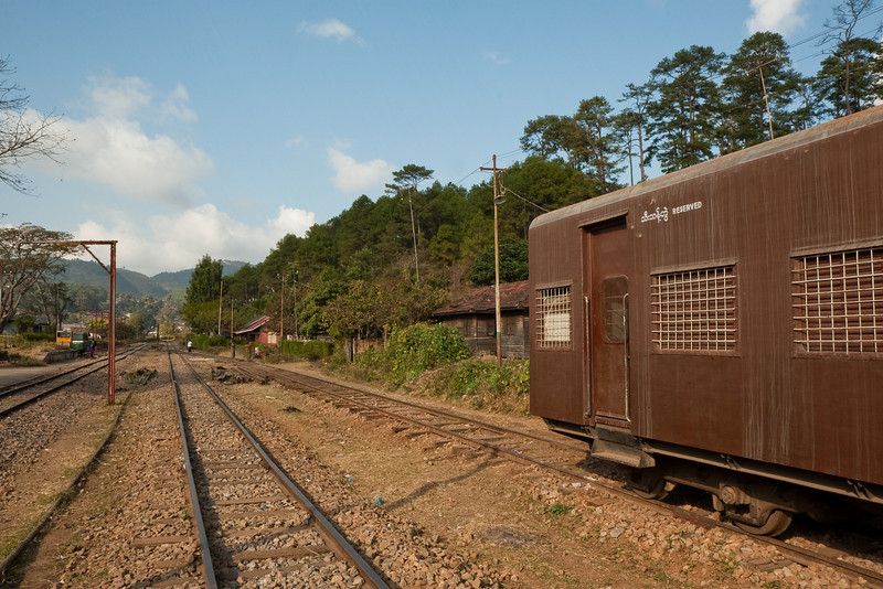 Kalaw trainstation