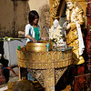shrine at Shwedagon Paya area, Yangon