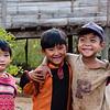 Kids at small village near Kalaw