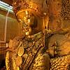 The famous Mahamuni Buddha at Mahamuni Paya, Mandalay