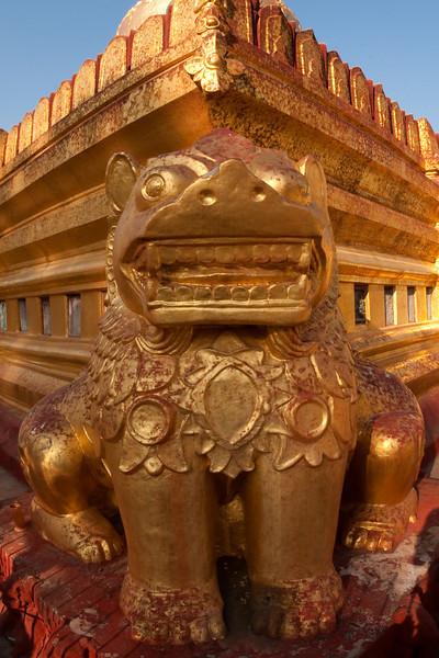 detail of Shwezigon Paya, Bagan