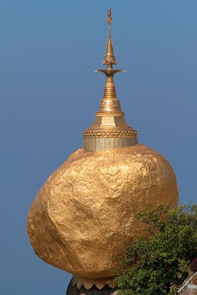 Kyaiktiyo Pagoda, a.k.a. Golden Rock