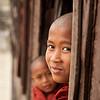 Monk at Shwe Yaunghwe Kyaung, Nyaungshwe