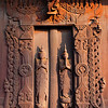 Door of Shwe In Bin Kyaung, Manadalay