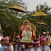 initiation of a Buddhist novice