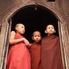 Monks at Shwe Yaunghwe Kyaung, Nyaungshwe