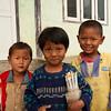Kids near Shwe Yaunghwe Kyaung, Nyaungshwe