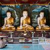 Buddhas at Shwemawdaw Paya area, Bago