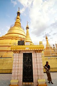 Exterior of Botataung Paya, Rangoon
