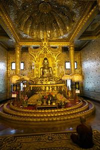 Interior of Botataung Paya, Rangoon