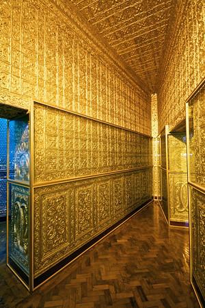 Interior of Botataung Paya, Rangoon -  said to contain hairs from the head of Buddha.
