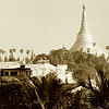 Shwedagon from my hotel balcony.