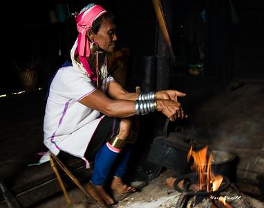 the longneck Burmeese