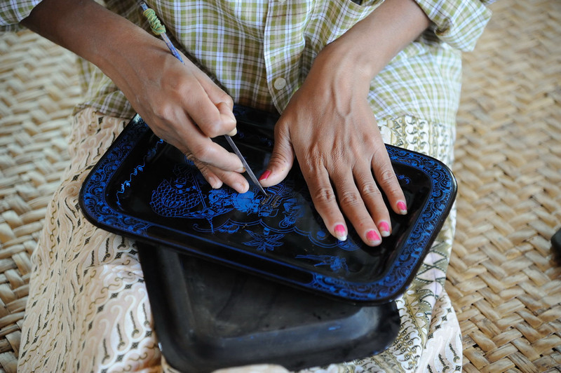 Lacquerware workshop