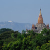 Temples and Stupas of Old Bagan, Burma.