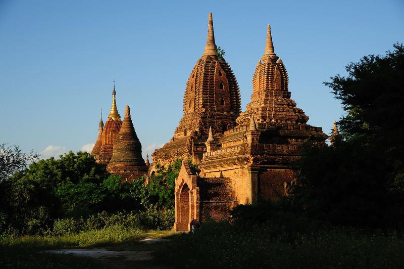 Temples and Stupas of Old Bagan, Burma.