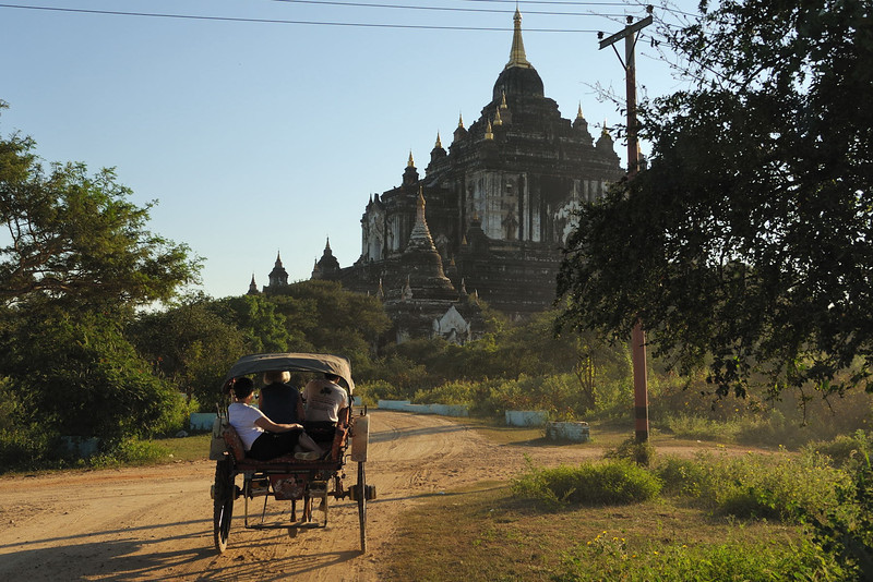 Temples and Stupas of Old Bagan