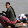 Washday by the Irrawaddy