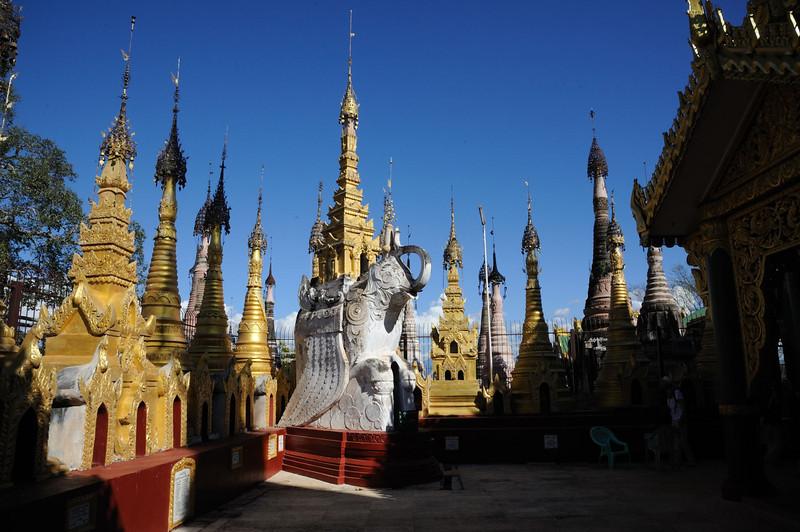 Kakku Pagoda, Shan State, East of Lake Inle