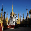Kakku Pagoda, Shan State, East of Lake Inle