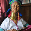 A woman of the Padaung tribe