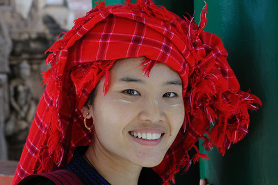 Traditional Shan dress, Burma.